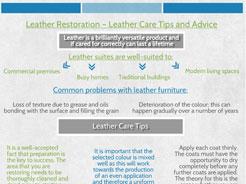 Leather Restoration Preston