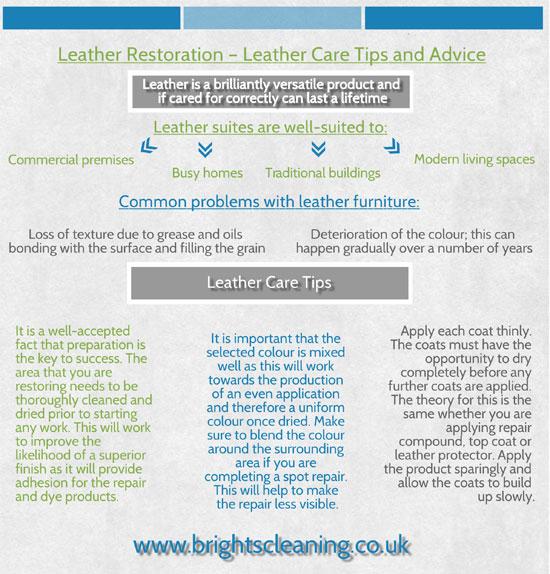 Restoring leather suites Preston